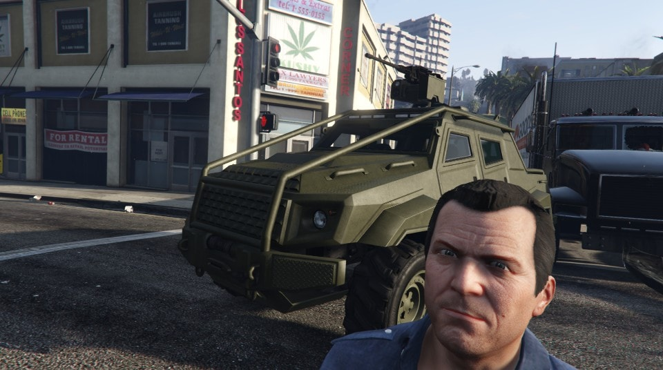 HVY Insurgent Pick-Up in Single Player. - GTA V - GTAForums