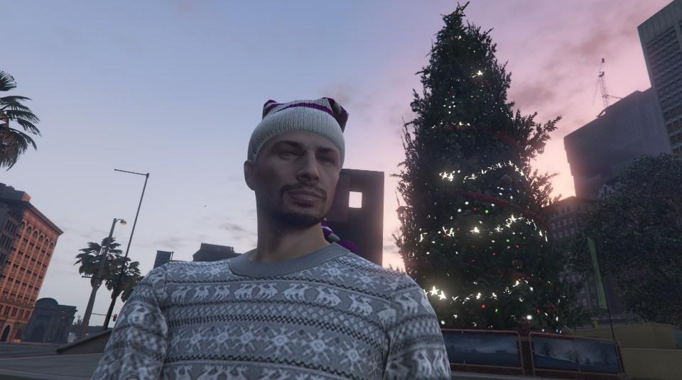 imagegiant christmas tree at legion square - Gta V Christmas