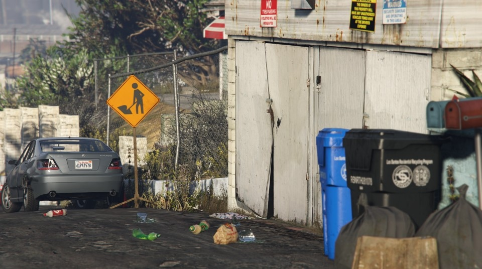Depth Of Field Makes GTA V Look Incredibly Realistic Gaming - Guy takes pictures showing just realistic grand theft auto v looks