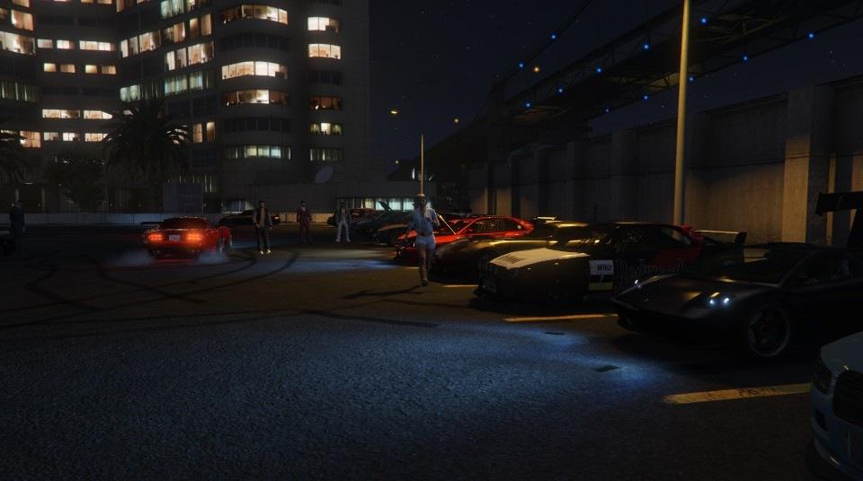 hosting a car meet