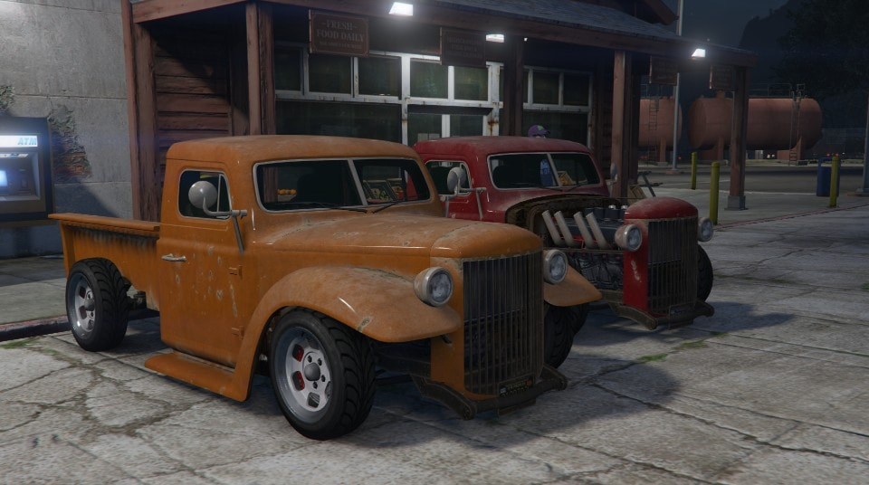 Classic Muscle. ...trucks. : gtavcustoms