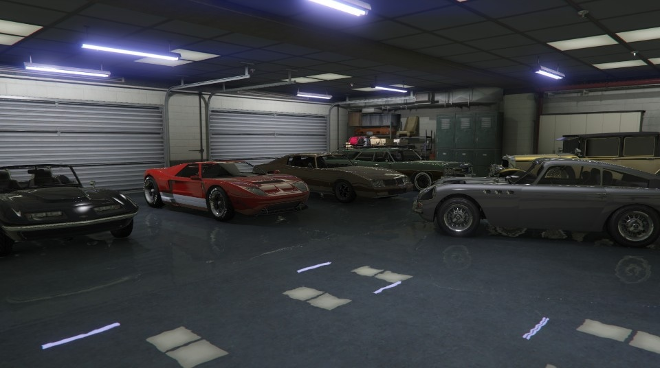 Gta 6 car garage images galleries for Five car garage