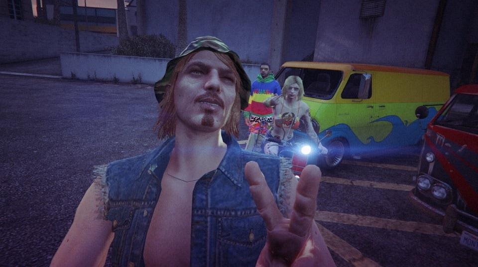 Hippy Night Selfie...