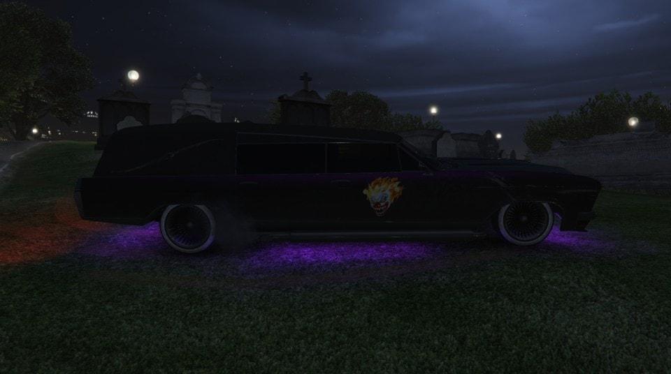 I created Shadow in GTA V Online
