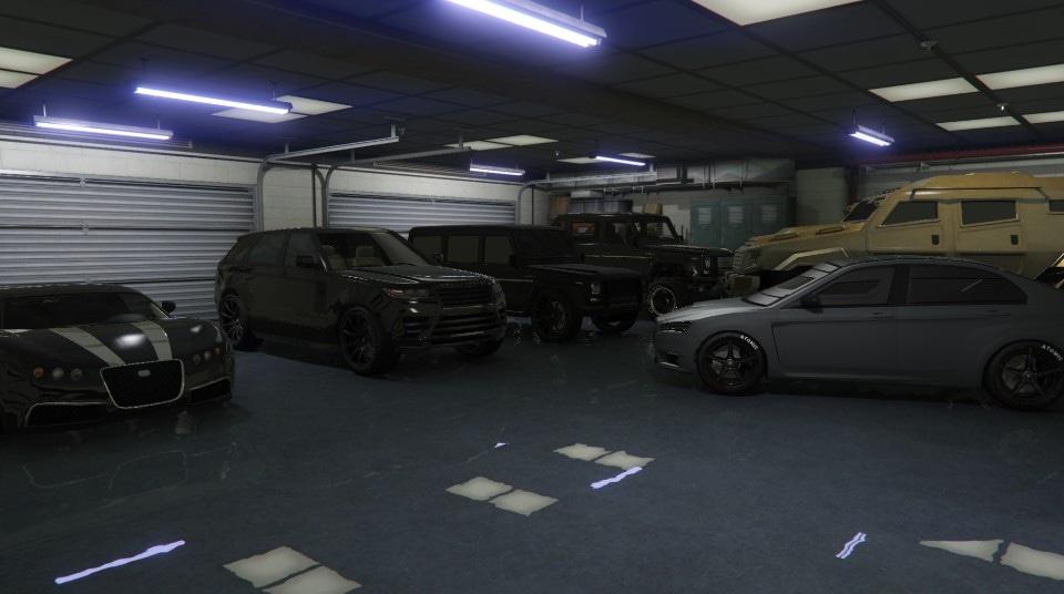 mis garajes (versión ii) - gta online